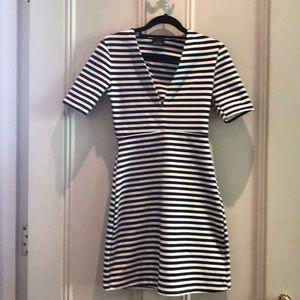 Cleavage boosting Zara Dress